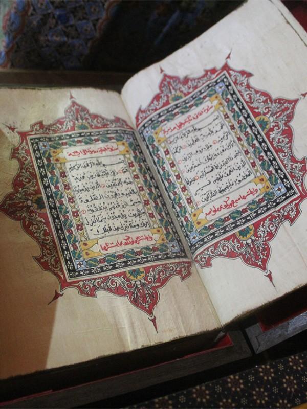 Quran Sunan Kalijaga, Gelar Pusaka Islam, Graha Liman Kencana (Foto Dokumentasi Jelajah Garut)