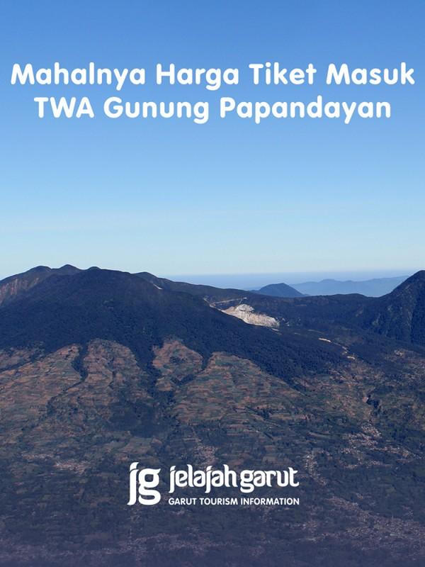 Harga Tiket Masuk Gunung Papandayan