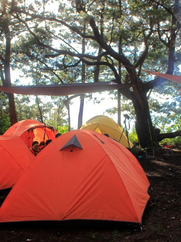 Camping di Garut - Camping di Garut Tetap Asyik di Musim Hujan