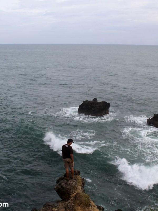 View samudera indonesia dari Sodong Bodas