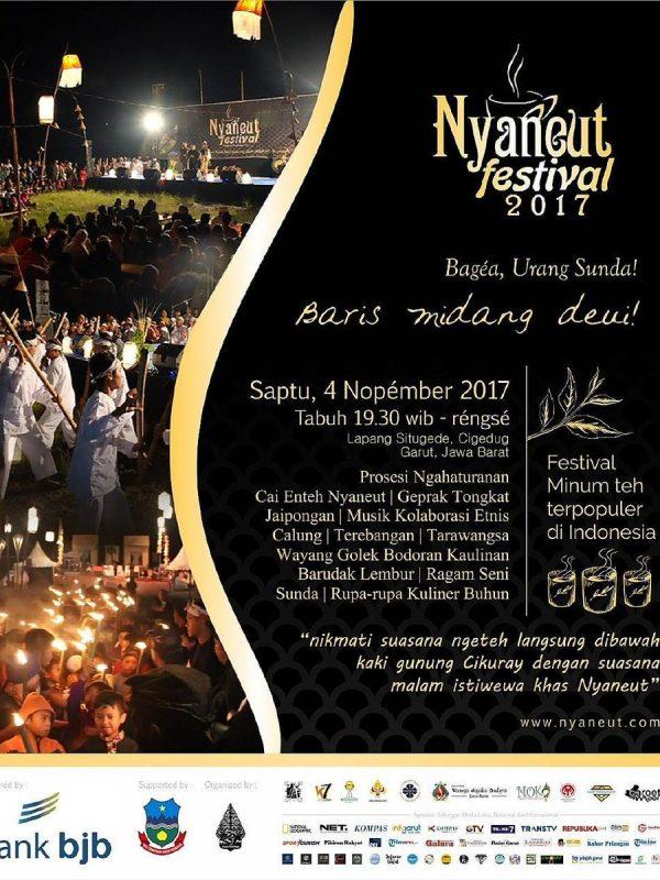 poster acara Nyaneut Festival 2017