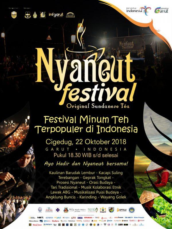 Poster Acara Nyaneut Festival 2018