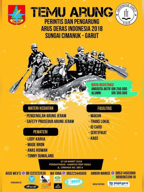Cimanuk Jambore Rafting poster