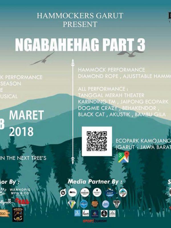 Ramaikan Event di Garut Hammocking di Ecopark Kamojang Garut 17-18 Maret 2018