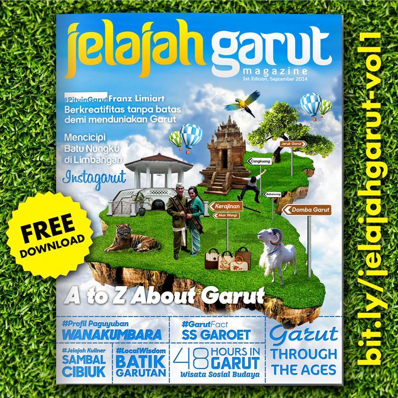 E-Magazine Jelajah Garut edisi 1: A to Z about Garut