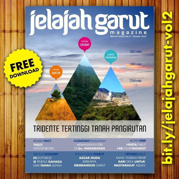 e-Magazine Jelajah Garut edisi 2 Tridente Gunung Pangirutan